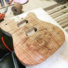 A shot of Bryan's redwood top Dixie from a few weeks back. #redwood #reclaimed #woodporn #custom #handmade #geartalk