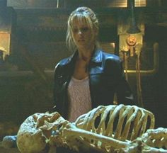 You were on a first-name basis with the skeleton in science class. | 27 Signs You Went To High School In Sunnydale