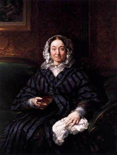 Doña Francisca de la Gándara, ca. 1846 (Vicente Lopez y Portana) (1772-1850) Museo Nacional del Prado, Madrid