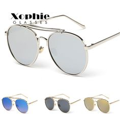 7d2f5ccfec XINFEITE brand men retro frame metal frame pilots sunglasses ladies outdoor  glasses UV400 classic glasses-in Sunglasses from Women s Clothing    Accessories ...