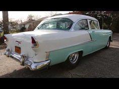 WeBe Autos Reviews a Sick 1955 Chevrolet Belair~510 Steve Schmidt Big Block~VERY SPECIAL CAR!!! - YouTube