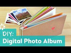 How to Make a Photo Album : Oh Joy Digital Baby Shower - YouTube