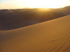 Sahara sunrise at Erg Chegaga |  #morocco #sahara Maroc Désert Expérience http://www.marocdesertexperience.com