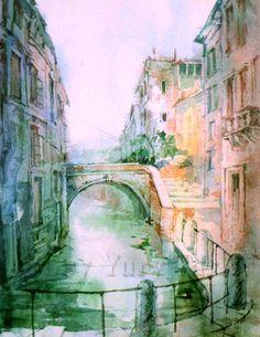 Venice Bridge by Yury Tarler
