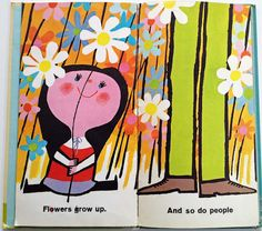 The Up and Down Book by Mary Blair ~ Golden Press, 1964