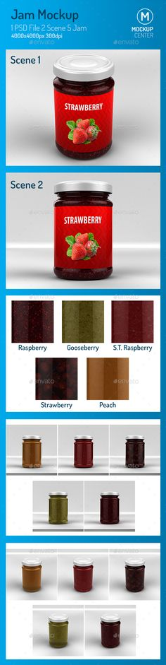Jam #Mockup - Product Mock-Ups #Graphics