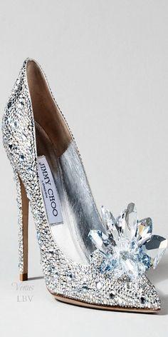 Women's Fashion High Heels : Jimmy Choo ~ Cinderella Glass Slipper Interpretation, 2015 Pretty Shoes, Beautiful Shoes, Cute Shoes, Women's Shoes, Me Too Shoes, Shoe Boots, Stiletto Shoes, Pumps Heels, Prom Heels