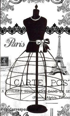 Do you like vintage dress form mannequins? I have a few vintage dress form rubber stamps. I love stampi. Fashion Mannequin, Dress Form Mannequin, Vintage Paris, Manequin, Vintage Wedding Gifts, Shabby Chic, Paris Dresses, Black And White Drawing, Black White