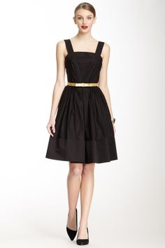 Orla Kiely Leather Bow Belt Dress by Non Specific on @HauteLook