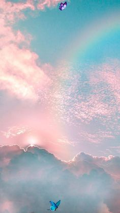 Rainbow in the sky - #rainbow #sky #wallpaper - #Rainbow #riqueza #sky - Rebel Without Rainbow in the sky - #rainbow #sky #wallpaper - #Rainbow #riqueza #sky   Rainbow in the sky - #rainbow #sky #wallpaper - #Rainbow #riqueza #sky  Best Picture For  wallpaper pink gold  For Your Taste  You are looking for something, and it is going to tell you exactly what you are looking for, and you didn't find that picture. Here you will find the most beautiful picture that will fascinate you when called… Uhd Wallpaper, Cloud Wallpaper, Rainbow Wallpaper, Wallpaper Backgrounds, Phone Backgrounds, Aesthetic Backgrounds, Aesthetic Wallpapers, Rainbow Cloud, Rainbow In The Sky