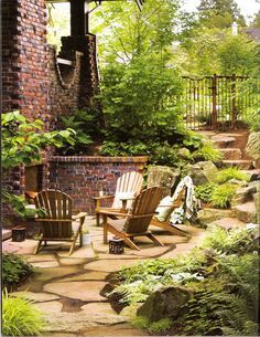 The perfect space for relaxing in the garden