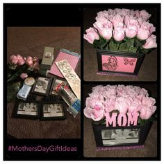 Diy Gifts For Mom, Diy Mothers Day Gifts, Mother Birthday Gifts, Diy Birthday, Diy Mother's Day Gift Basket, Birthday Gift Baskets, Mothers Day Baskets, Mothers Day Gifts From Daughter, Dollar Tree Birthday