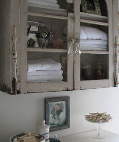 20+ Shabby Chic Bathroom Cabinet Ideas...click Pic For Ideas