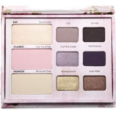 Too Faced Romantic Eye Collection ❤ liked on Polyvore