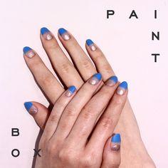 Show and Tell #paintboxmani #nailart #nails