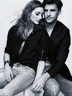 Olivia Palermo & Johannes Huebl by Benoit Peverelli for Madame Figaro May 29th, 2015