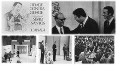 """Chico Xavier no programa """"Cidade contra Cidade"""" de Sílvio Santos (soment..."""