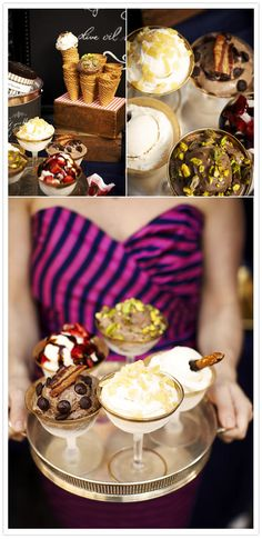 {Ice Cream Dessert Table | Jillian Event Design & Styling}