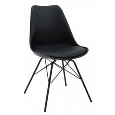 Chaise brillante vert olive inspirée DSR Charles Eames