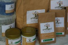 get messy - they're non-toxic, all natural, and vegan.  =)   [Unearthed - Non-Toxic, Eco-Friendly, Biodegradable Natural Paints]
