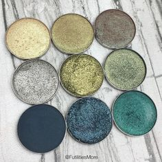 Makeup geek green eyeshadows | Futilities and More - makeup products - http://amzn.to/2hcyKic