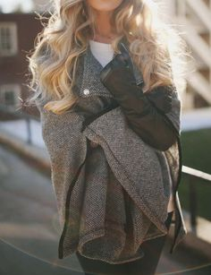 warm and cozy sweater style