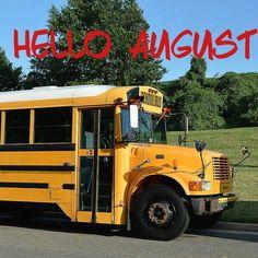 Welcome #August!  #NewMonth #BackToSchool #Caregiving #Kids