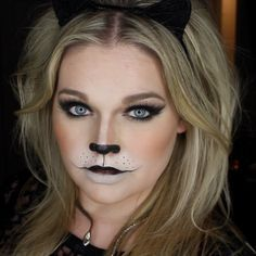 Step 11 Halloween Cat Makeup Tutorial | Things of Interest ...