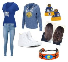 """""""Untitled #73"""" by marissa-moore-i on Polyvore featuring adidas, G-III, Converse and GameWear"""