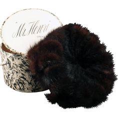 174f1111af8e0d Ladies Vintage Couleurs du Sol Hat - Old Littler Hat - Stylish Lush Felt |  Fashion | Vintage, Hats, Lady