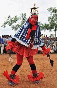 Zaouli dance