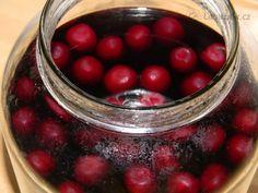 Moc dobrá griotka recept - Labužník.cz Cocktail Drinks, Cocktails, Drinking, Smoothie, Cherry, Food And Drink, Homemade, Fruit, Cooking