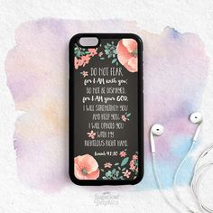 Bible Verse Quote iPhone Case Do not be by theSugarloafBoutique