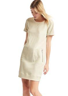 Gap Roll Sleeve Sweatshirt Dress | Brides.com