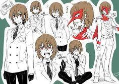 Persona 5 Goro, Persona Five, Persona 5 Memes, Persona Crossover, Atlus Games, Goro Akechi, Ren Amamiya, Video Game Anime, Akira Kurusu