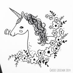 Day 49 of yearlong 30 minute a day sketchbook project. Baby Unicorn, Unicorn Art, Doodle Sketch, Doodle Art, Planet Drawing, Hand Embroidery Patterns Free, Sketchbook Project, Painting Activities, Cartoon Coloring Pages