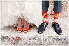 Clemson Girl: Wedding Wednesday - Clemson Wedding Shoes