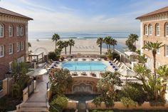 Hotel Casa Del Mar -Santa Monica, CA, USA Nestled...   Luxury Accommodations
