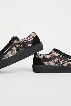 Slide View 4: Old Skool Floral Velvet Sneaker