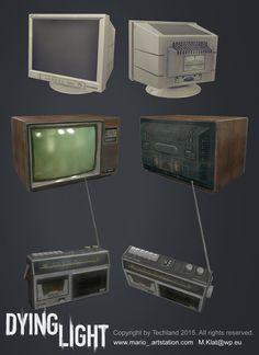 ArtStation - Dying Light - environment objects, Mariusz Klat