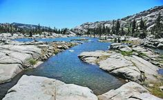Lake Aloha is one of the primary destinations in the Desolation wilderness. It is a 3.5 mile hike from Echo Lake if you take the water taxi.