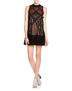 Free People Angel Lace Dress | Bloomingdale's