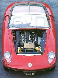 """Alfa Romeo 6C 3000 """"Pininfarina"""" (1960)."""