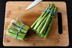 Trying this...now! Quick Asparagus Soup: Don't Throw Away the Ends!