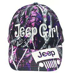 Muddy Girl Jeep Girl Trucker Style Cap Hat