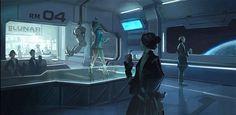 sci fi bar interior - Google Search