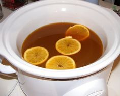 Crock Pot Mulled Cider - make this for all the fall and winter parties!  www.getcrocked.com