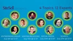 SiteSell Presents: WRITING/BLOGGING with Demian Farnworth, Wade Harman and Kevan Lee - 7/13 @ 12pm ET