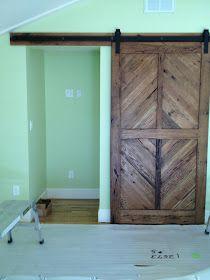 Despite Lupus: Barn Door Installed!! Woohoo!!