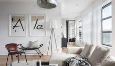 Zweeds penthouse met eethoek als eyecatcher